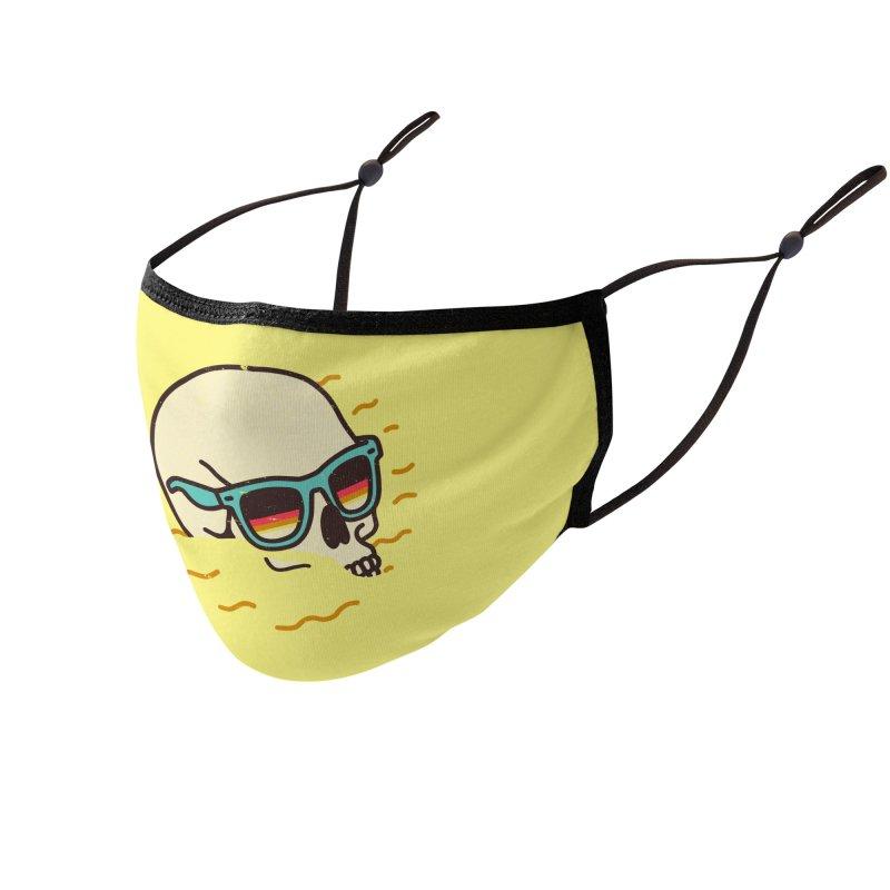 Beach Lover Accessories Face Mask by Threadless Artist Shop