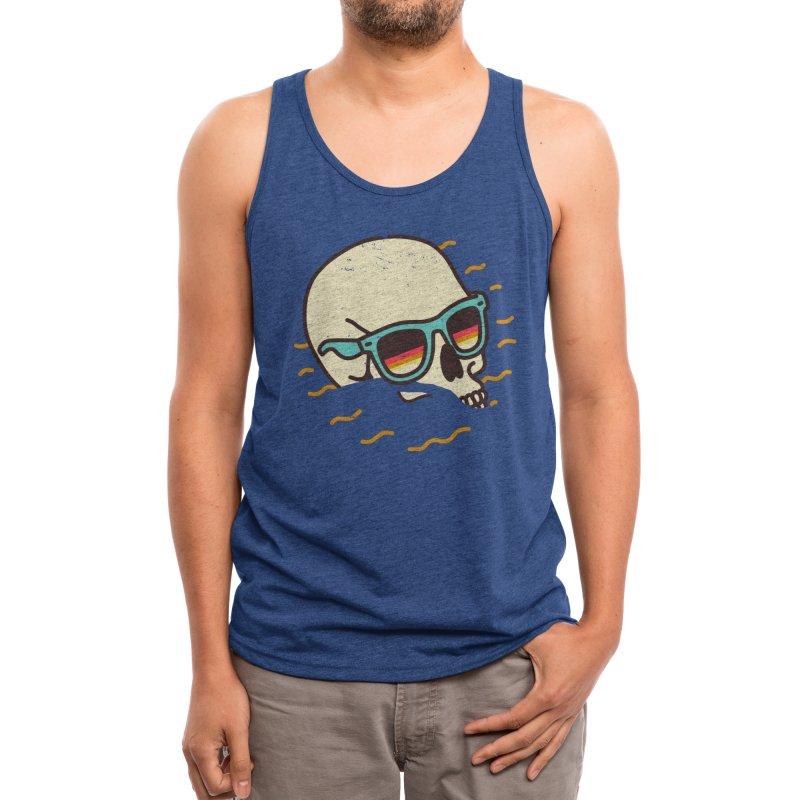 Beach Lover Men's Tank by Threadless Artist Shop