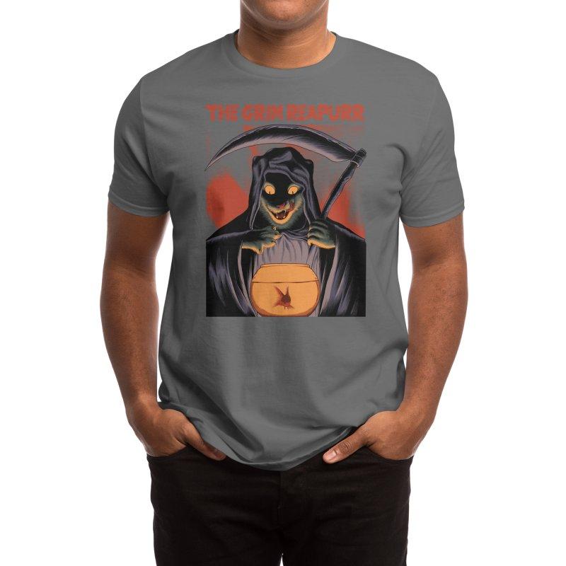 The Grim Reapurr Men's T-Shirt by Threadless Artist Shop