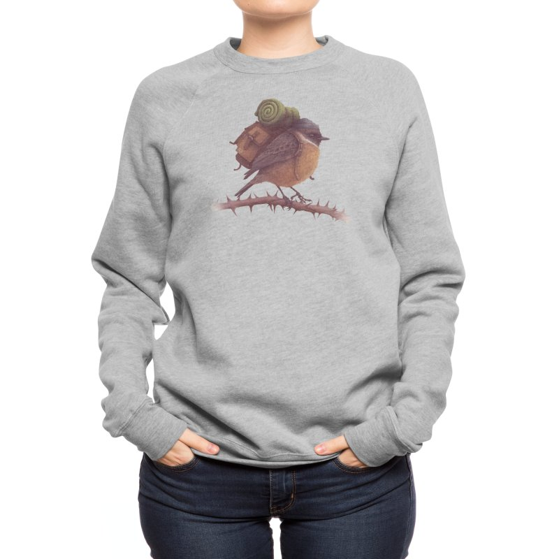 Wanderlust Women's Sweatshirt by Threadless Artist Shop