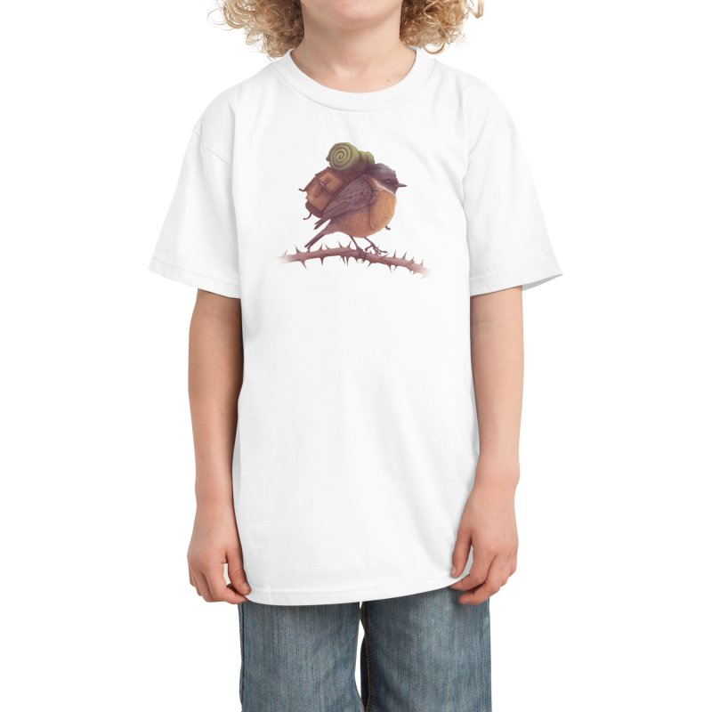 Wanderlust Kids T-Shirt by Threadless Artist Shop