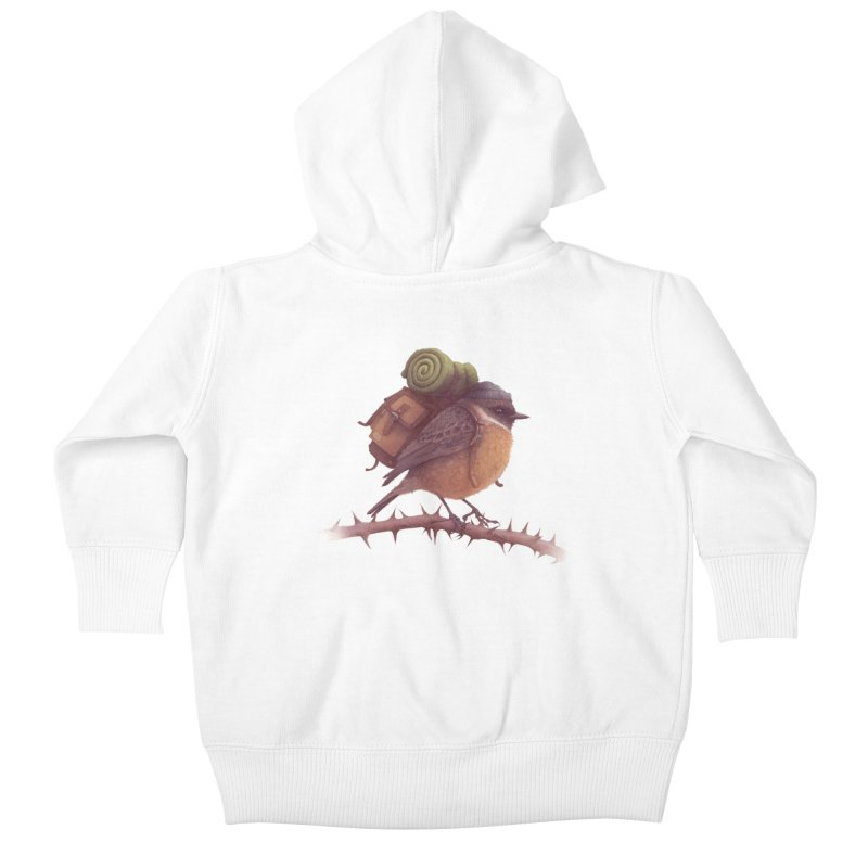 Wanderlust Kids Baby Zip-Up Hoody by Threadless Artist Shop
