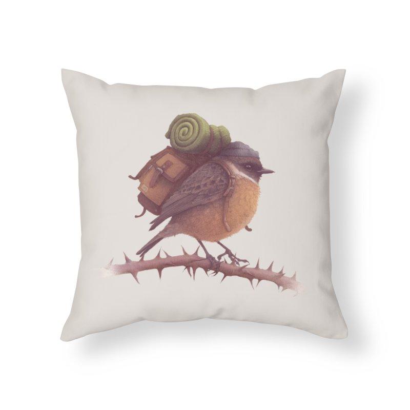 Wanderlust Home Throw Pillow by Threadless Artist Shop