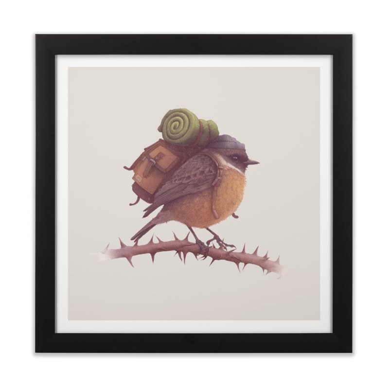 Wanderlust Home Framed Fine Art Print by Threadless Artist Shop