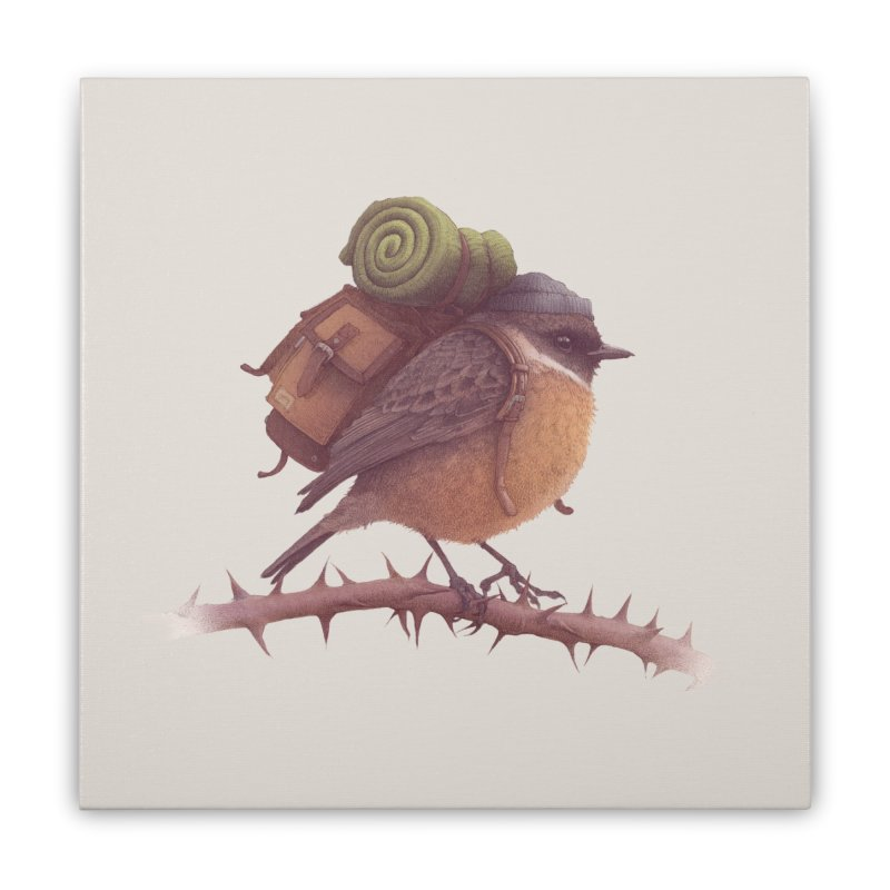 Wanderlust Home Stretched Canvas by Threadless Artist Shop