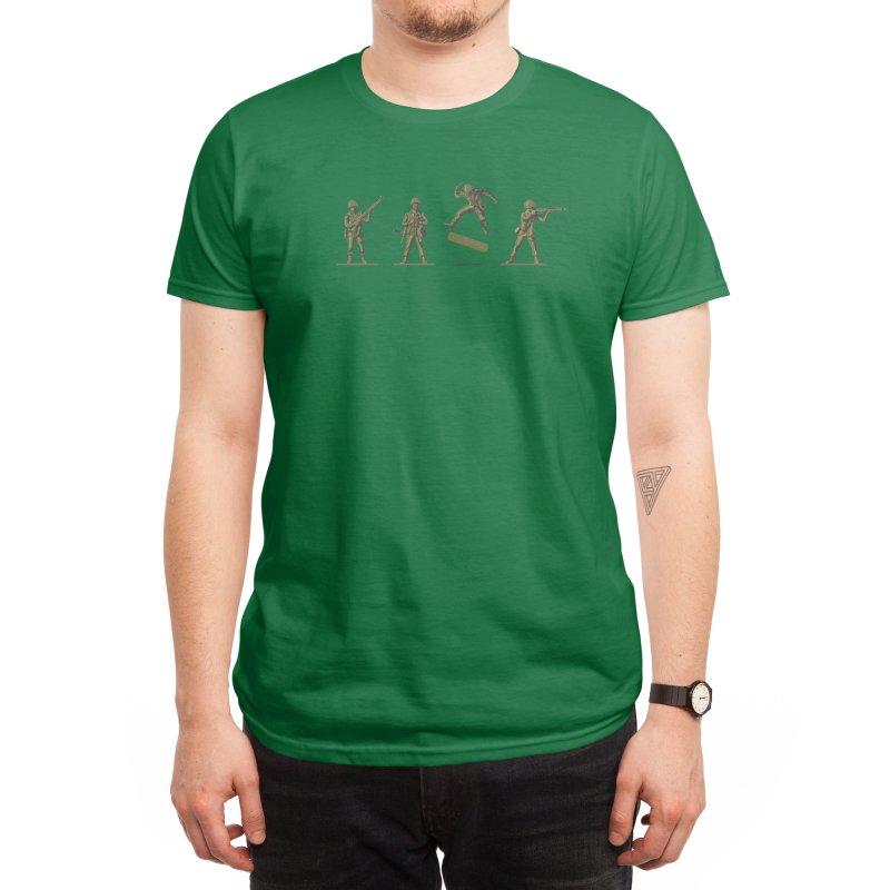 Khaki Kickflip Men's T-Shirt by Threadless Artist Shop