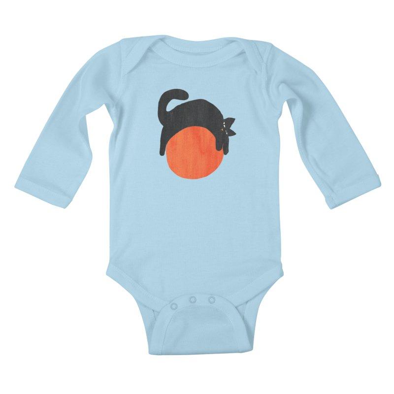mood Kids Baby Longsleeve Bodysuit by Threadless Artist Shop
