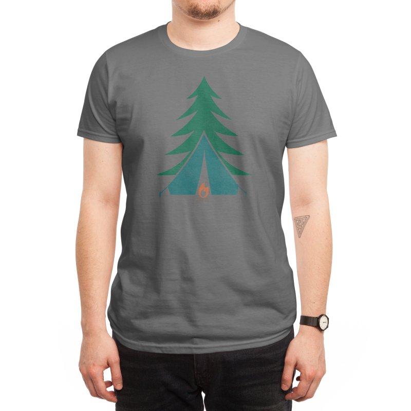 Camping Time Men's T-Shirt by Threadless Artist Shop