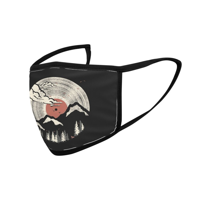 MTN LP Accessories Face Mask by Threadless Artist Shop