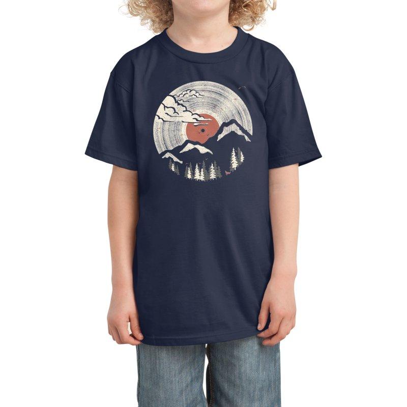 MTN LP Kids T-Shirt by Threadless Artist Shop