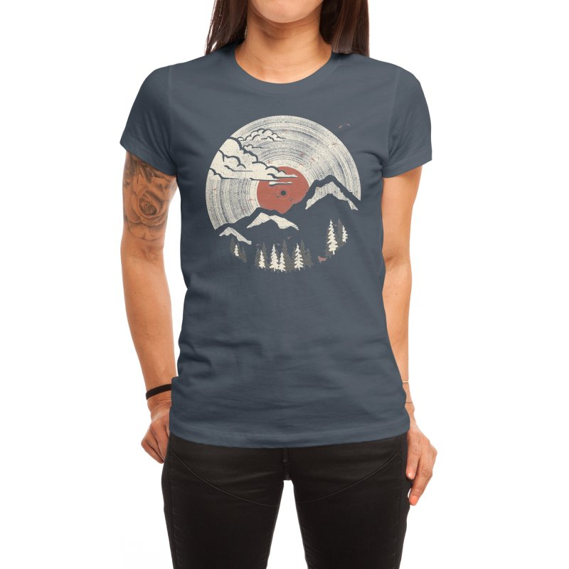 MTN LP Women's T-Shirt by Threadless Artist Shop