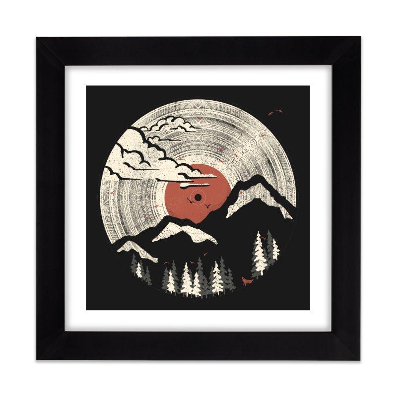 MTN LP Home Framed Fine Art Print by Threadless Artist Shop