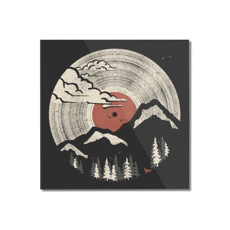 MTN LP Home Mounted Acrylic Print by Threadless Artist Shop