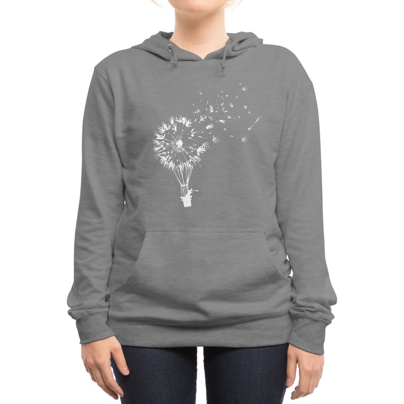 Going Where the Wind Blows Women's Pullover Hoody by Threadless Artist Shop