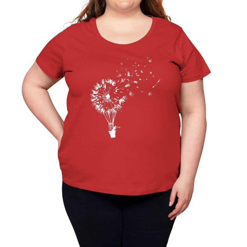 Going Where the Wind Blows Women's Scoop Neck by Threadless Artist Shop