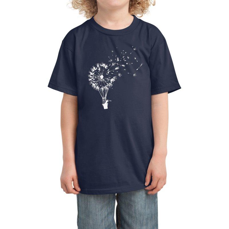Going Where the Wind Blows Kids T-Shirt by Threadless Artist Shop