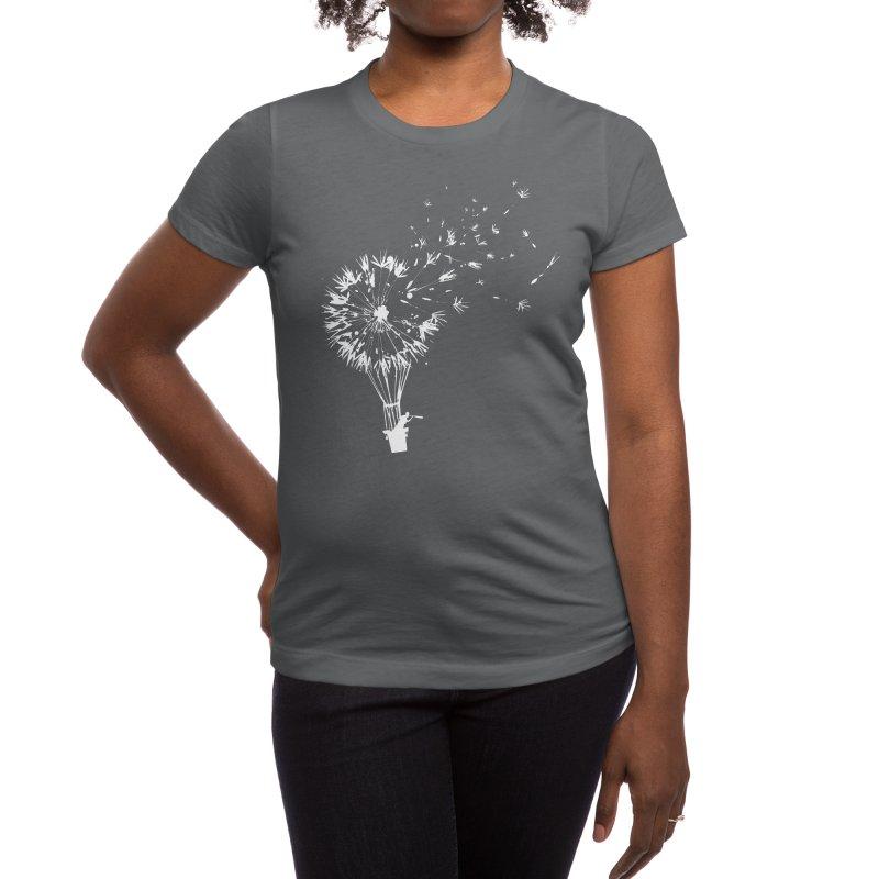 Going Where the Wind Blows Women's T-Shirt by Threadless Artist Shop
