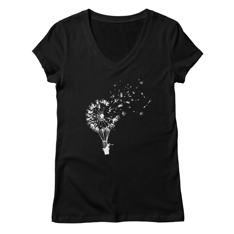 Going Where the Wind Blows Women's V-Neck by Threadless Artist Shop