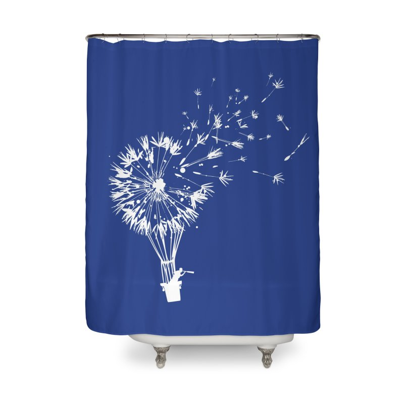 Going Where the Wind Blows Home Shower Curtain by Threadless Artist Shop
