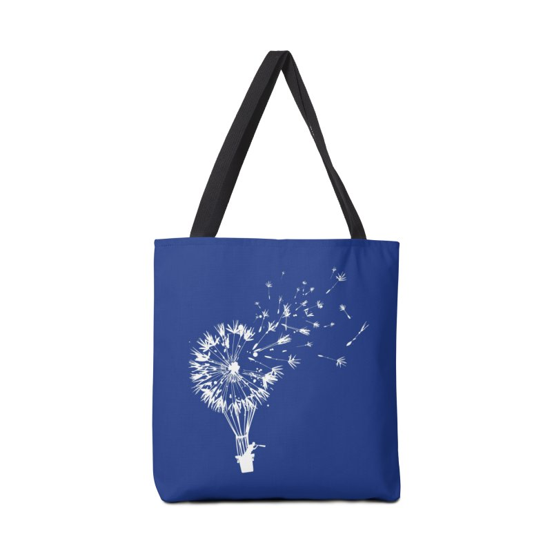 Going Where the Wind Blows Accessories Bag by Threadless Artist Shop
