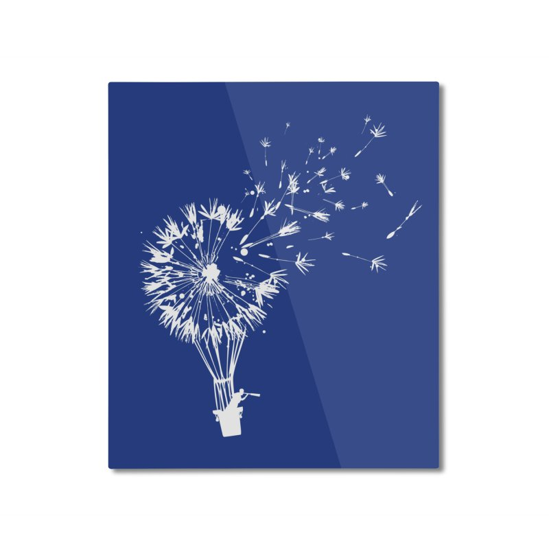 Going Where the Wind Blows Home Mounted Aluminum Print by Threadless Artist Shop