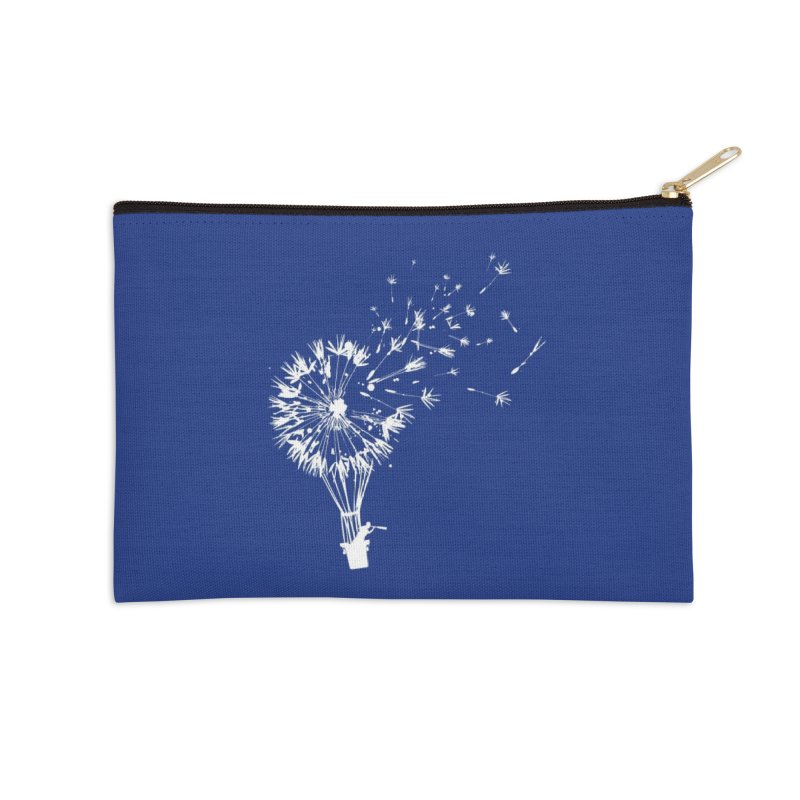 Going Where the Wind Blows Accessories Zip Pouch by Threadless Artist Shop