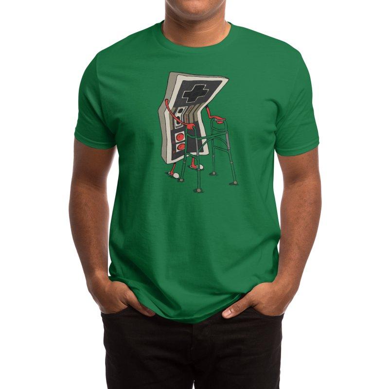Old Gamer Men's T-Shirt by Threadless Artist Shop