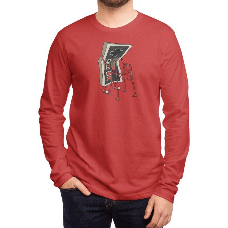 Old Gamer Men's Longsleeve T-Shirt by Threadless Artist Shop