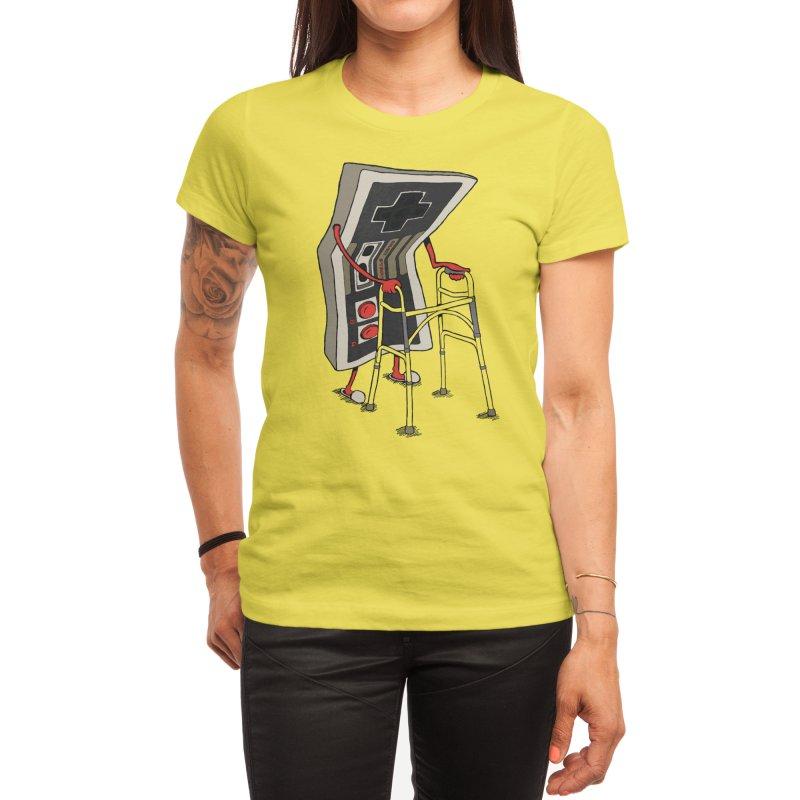 Old Gamer Women's T-Shirt by Threadless Artist Shop