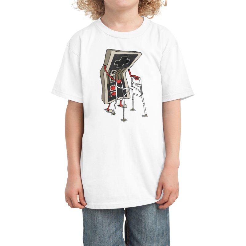 Old Gamer Kids T-Shirt by Threadless Artist Shop