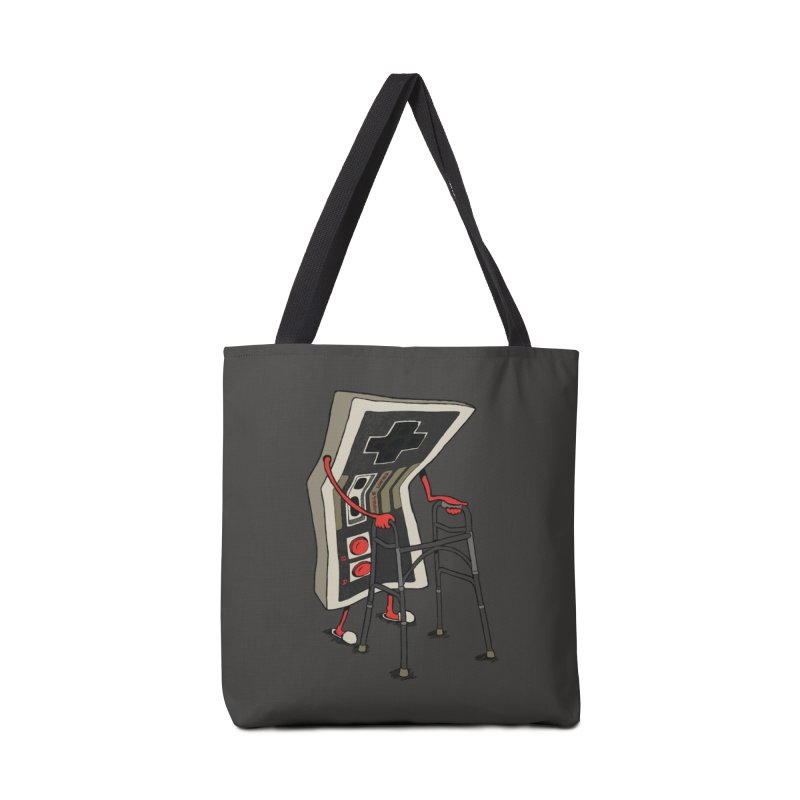 Old Gamer Accessories Bag by Threadless Artist Shop