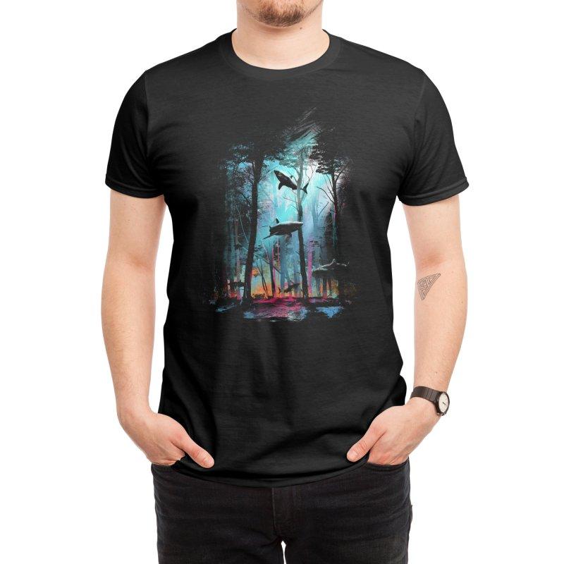 Shark Forest Men's T-Shirt by Threadless Artist Shop