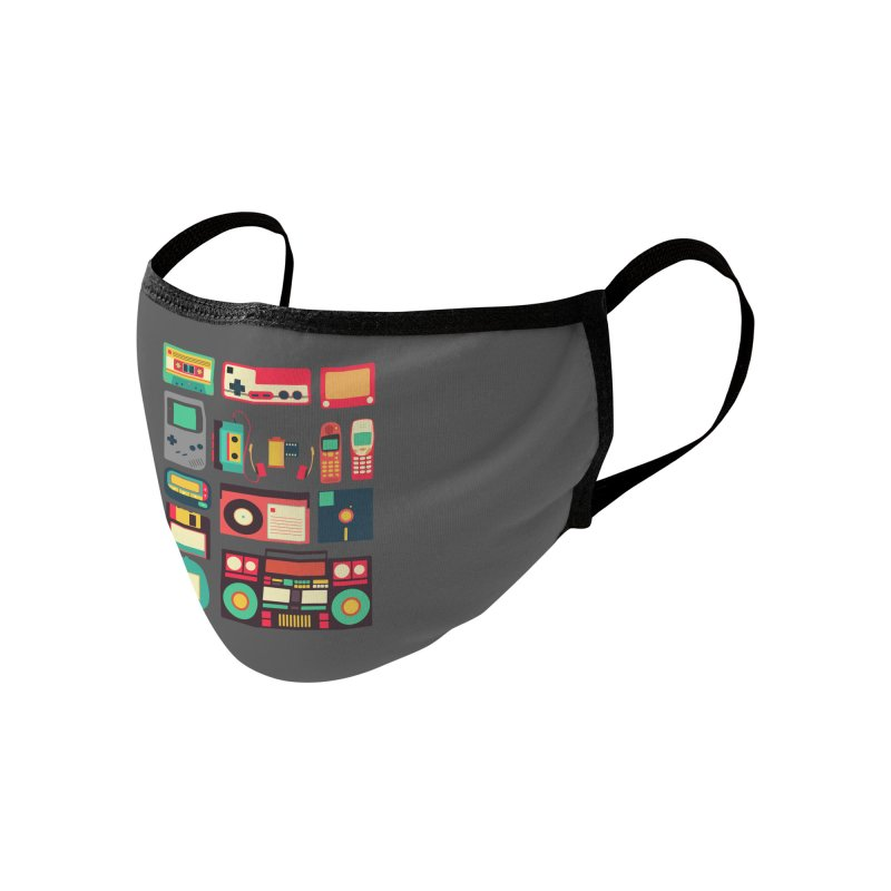 Retro Technology Accessories Face Mask by Threadless Artist Shop