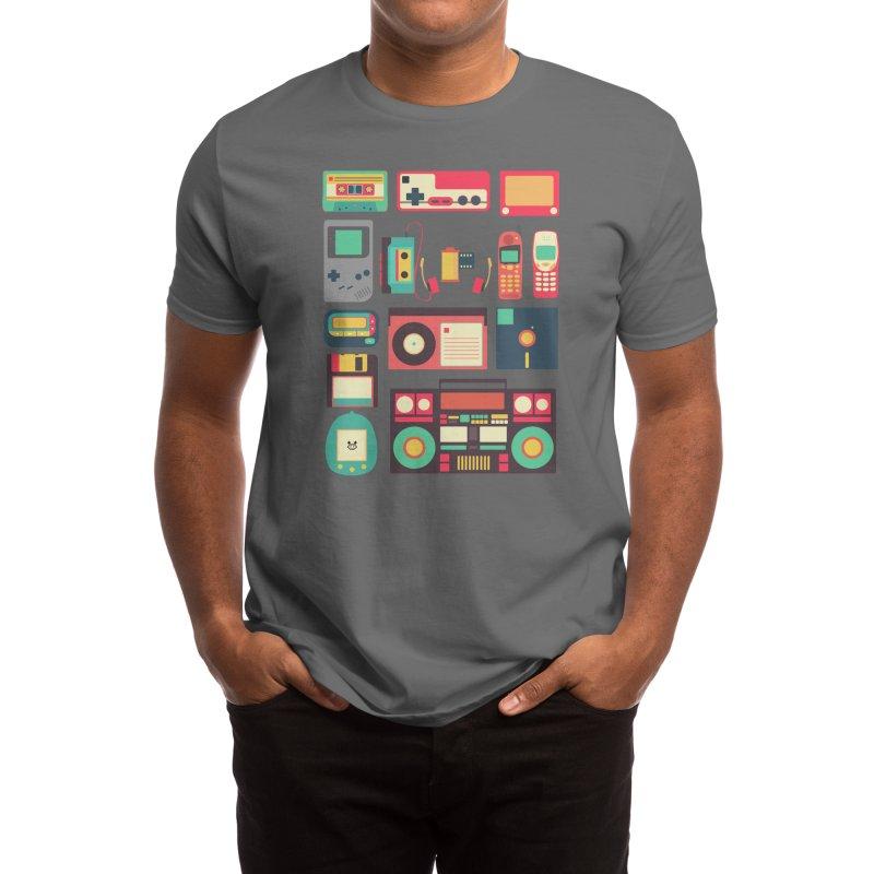 Retro Technology Men's T-Shirt by Threadless Artist Shop