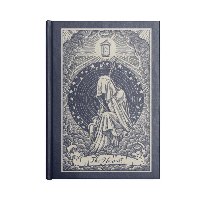 The Hermit Accessories Notebook by Threadless Artist Shop