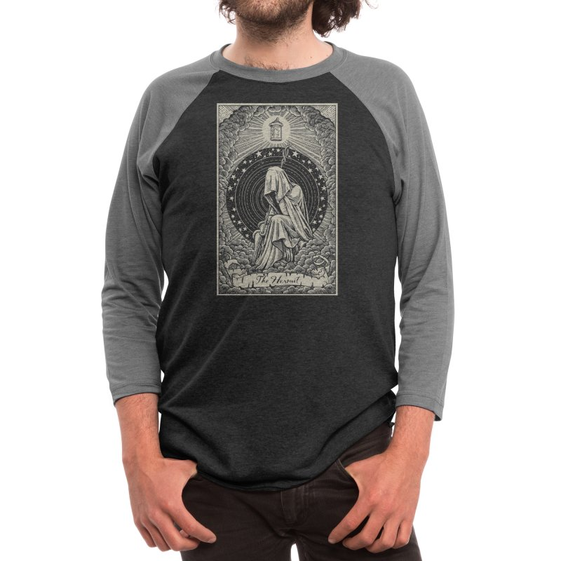 The Hermit Men's Longsleeve T-Shirt by Threadless Artist Shop