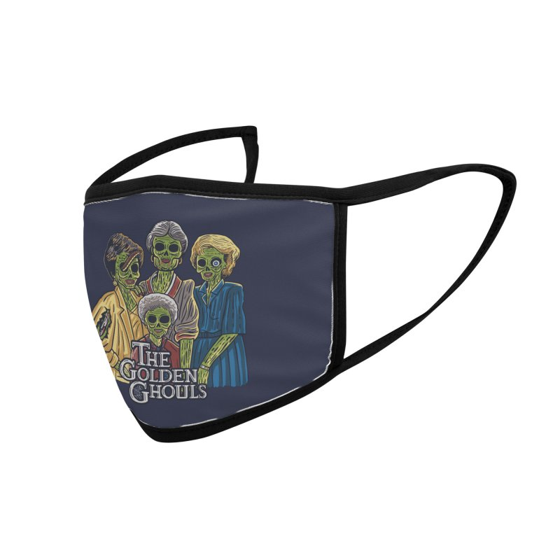 The Golden Ghouls Accessories Face Mask by Threadless Artist Shop