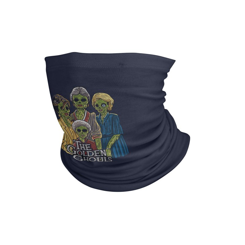The Golden Ghouls Accessories Neck Gaiter by Threadless Artist Shop