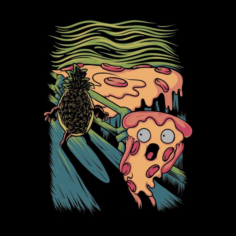 Pizza Nightmare Home Fine Art Print by Threadless Artist Shop