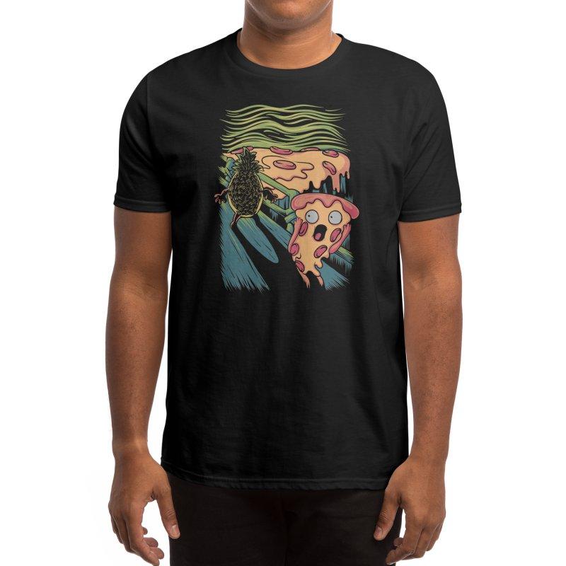 Pizza Nightmare Men's T-Shirt by Threadless Artist Shop
