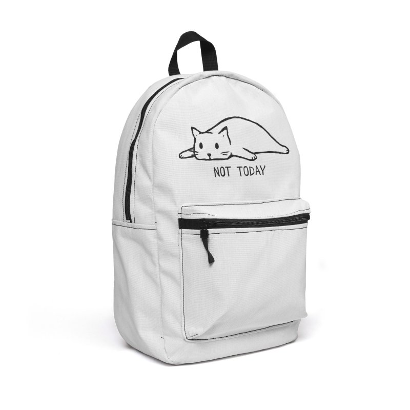 Not Today Accessories Bag by Threadless Artist Shop