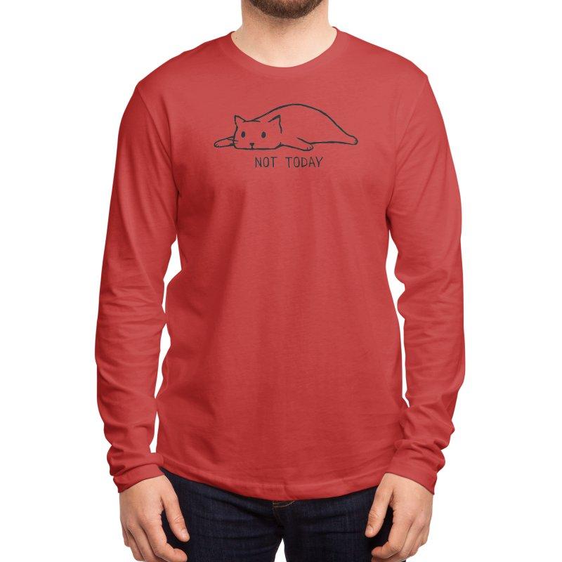 Not Today Men's Longsleeve T-Shirt by Threadless Artist Shop