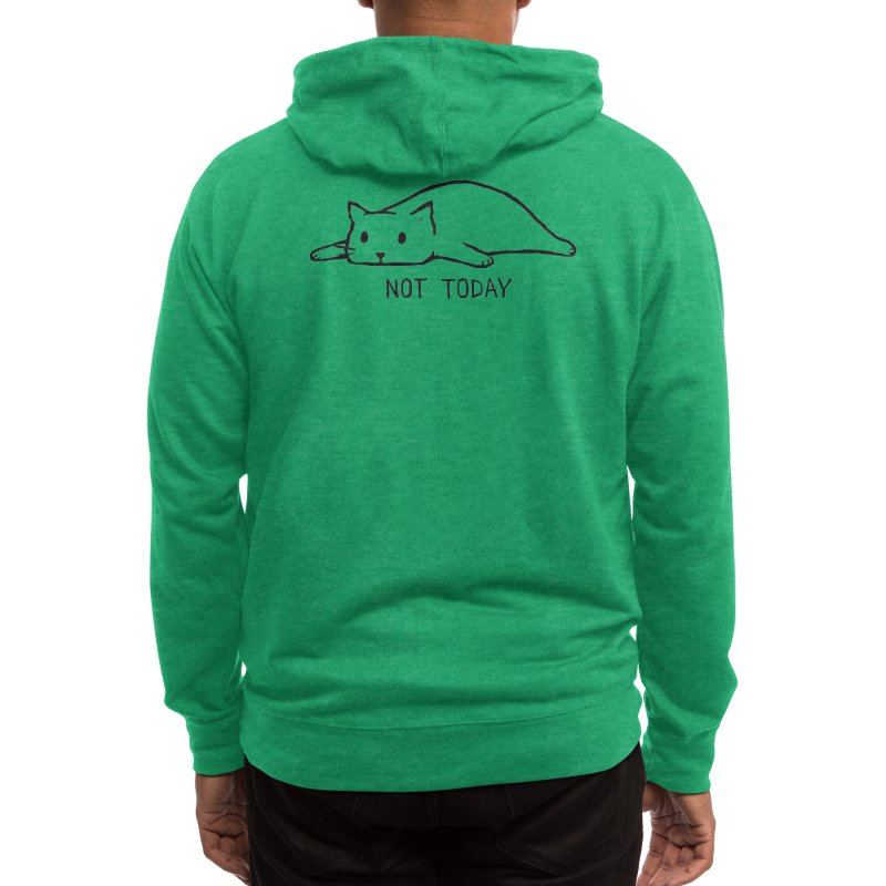 Not Today Men's Zip-Up Hoody by Threadless Artist Shop