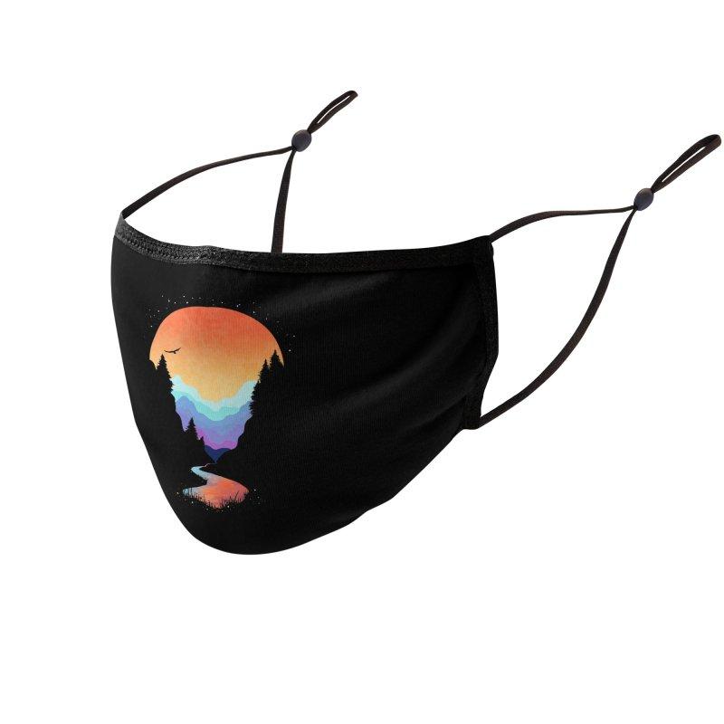 Mountain Stream Accessories Face Mask by Threadless Artist Shop