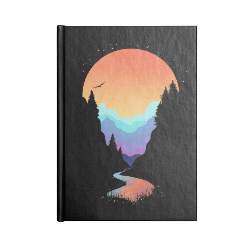 Mountain Stream Accessories Notebook by Threadless Artist Shop