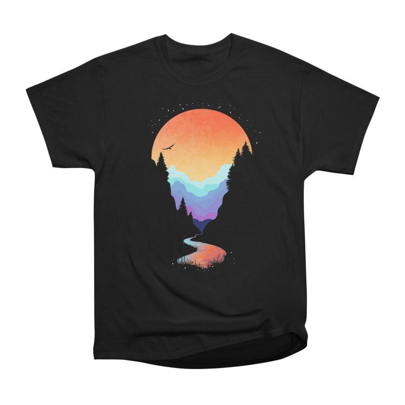 Mountain Stream Men's T-Shirt by Threadless Artist Shop