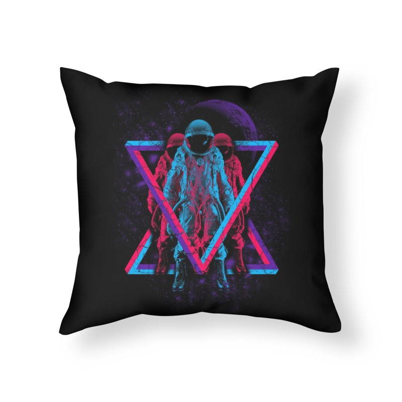 Astronomical Home Throw Pillow by Threadless Artist Shop