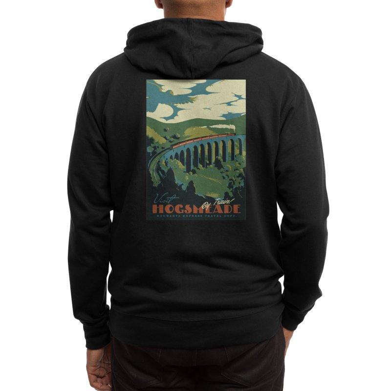 Visit Hogsmeade Men's Zip-Up Hoody by Threadless Artist Shop