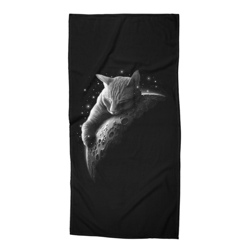 MOONCAT 2018 Accessories Beach Towel by Threadless Artist Shop