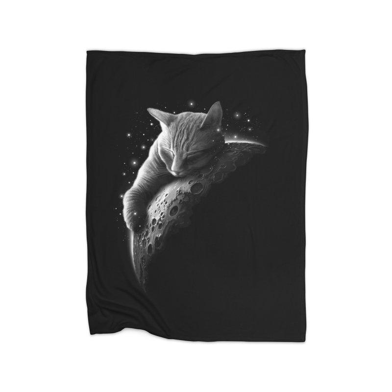 MOONCAT 2018 Home Blanket by Threadless Artist Shop